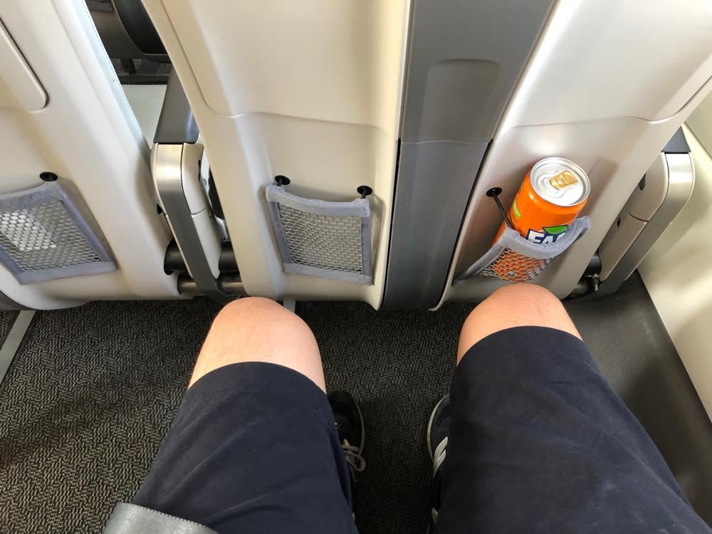 座席の間隔
