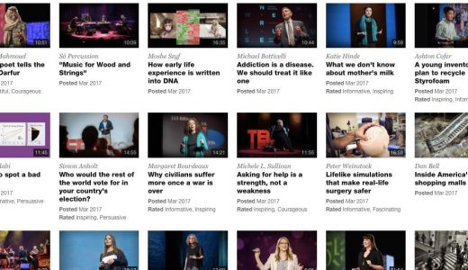 アメリカの語学学校の授業でも扱われるTED動画10選まとめ