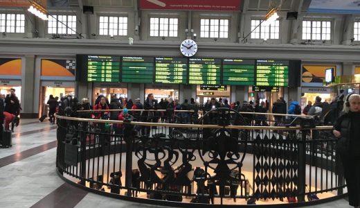 スウェーデン・アーランダ空港からストックホルム中央駅まで電車で行ってみた。切符の買い方、料金を紹介