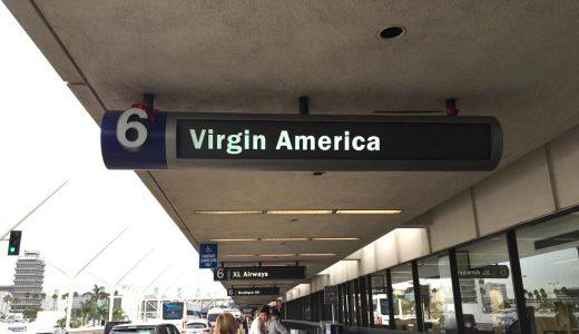 満足度の高い格安航空!「Virgin America」の航空券の買い方を解説します