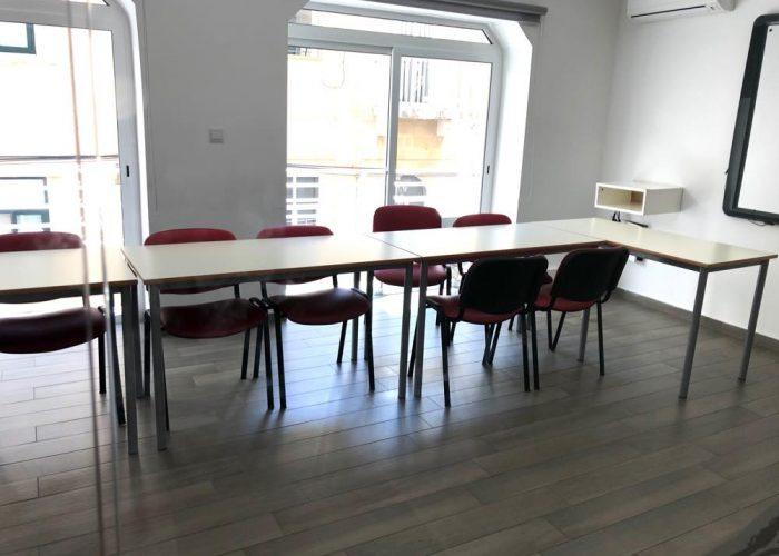2階の教室