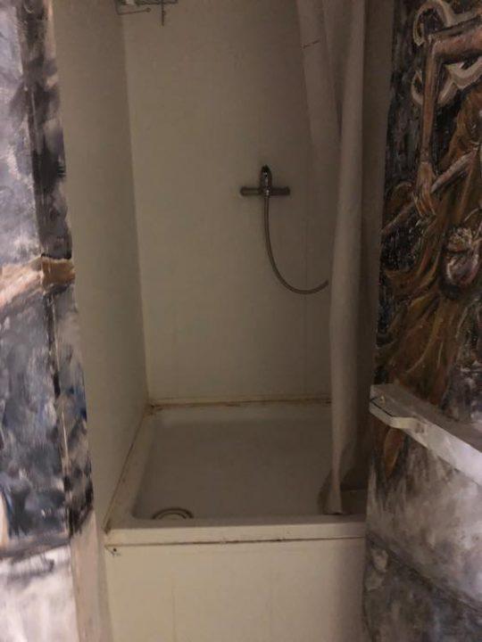 汚いシャワー